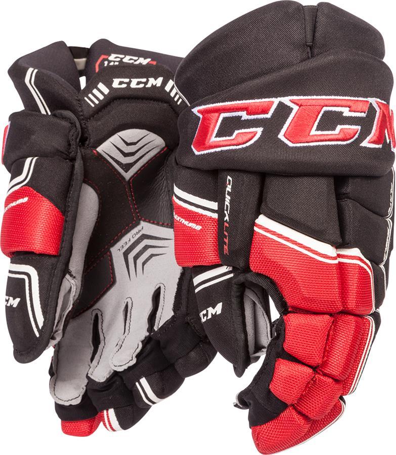 cfab62a67fb CCM QuickLite QLT Senior Ice Hockey Gloves