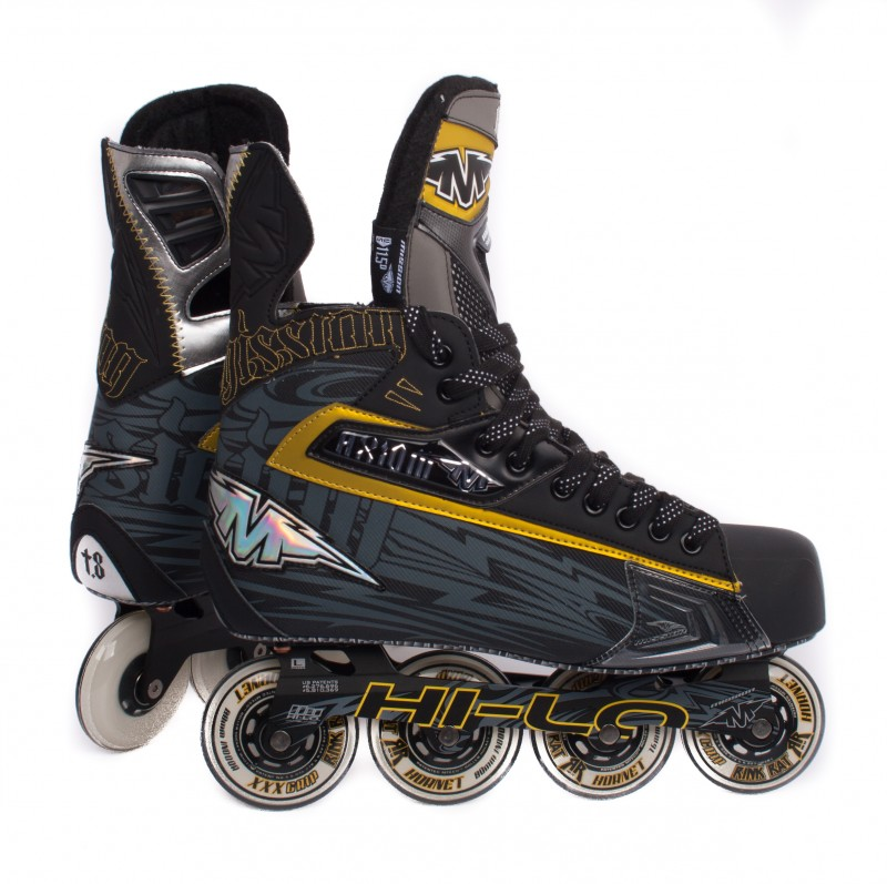 MISSION Axiom T8 Senior Inline Hockey Skates