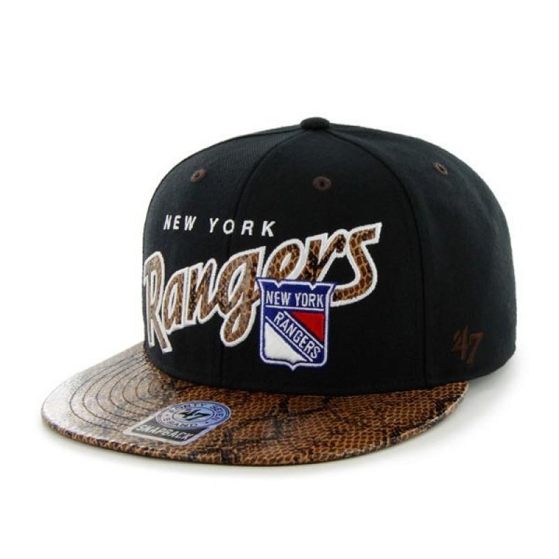 BRAND 47 New York Rangers Vintage King Cobra Snapback Cap