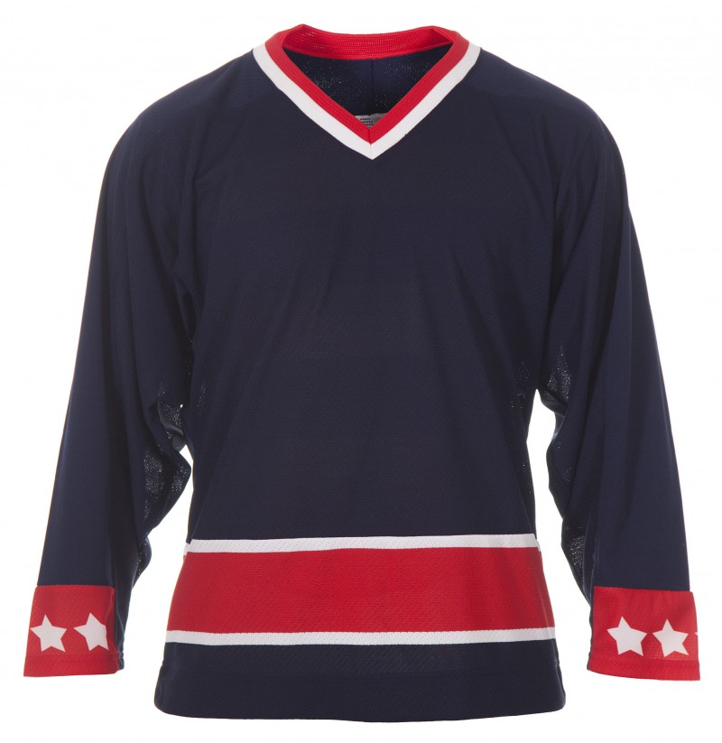 competitive price 71aed 68ebc CCM Adult Columbus Blue Jackets Practice Jersey Home