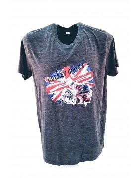 HOKEJAM.LV Adult Goalkeeper Logo United Kingdom T-Shirt