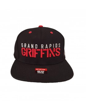 CCM Grand Rapids Griffins Flat Brim Snapback