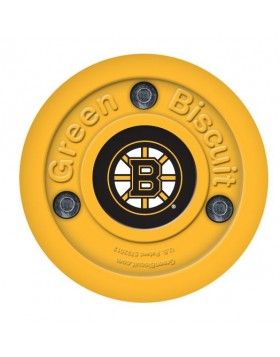 Green Biscuit Boston Bruins Off Ice Training Hockey Puck