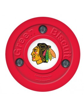 Green Biscuit Chicago Blackhawks Off Ice Training Hockey Puck