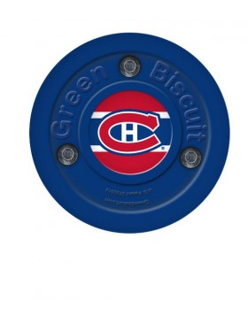 Green Biscuit Montreal Canadiens Off Ice Training Hockey Puck