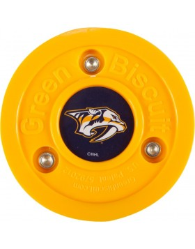 Green Biscuit Nashville Predators Off Ice Training Hockey Puck