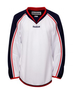 Reebok Columbus Blue Jackets  Edge Youth Hockey Jersey Away
