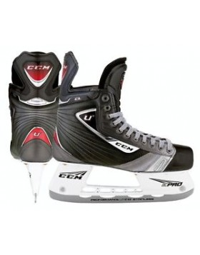 CCM U+CL Red Junior Ice Hockey Skates
