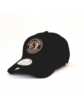 MITCHELL & NESS Chicago Blackhawks Strapback Cap / 1053