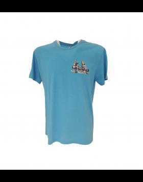 HOKEJAM.LV Skate Logo Adult T-Shirt