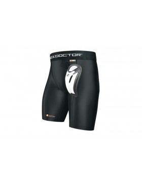 Shock Doctor Boys Core Compression Short  with Bio-Flex Cup 221