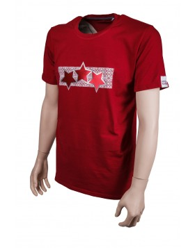 Women Latvia Three Star T-Shirt
