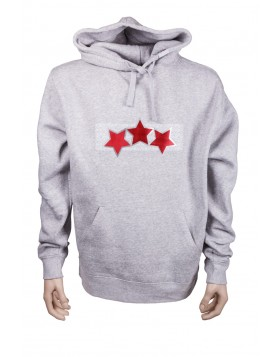 Adult Latvia Three Star Hoodie