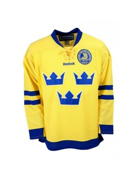 Reebok Team Sweden Adult Fan Jersey Away