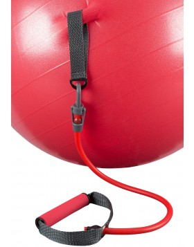 AVENTO Gym Ball with Resistance Tubes
