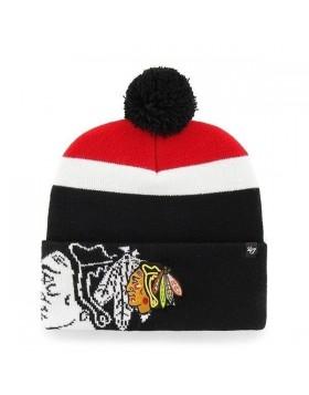 BRAND 47 Chicago Blackhaws Mokema Cuff Knit Winter Hat