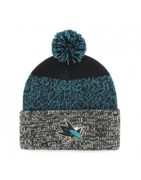 BRAND 47 San Jose Sharks Static Cuff Knit Winter Hat
