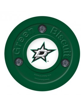 Green Biscuit Dallas Stars Off Ice Training Hockey Puck