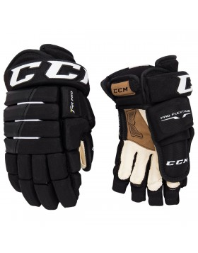 CCM Tacks 4-Roll Pro Junior Ice Hockey Gloves