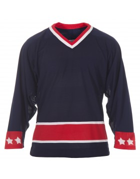 CCM Adult Columbus Blue Jackets‎ Practice Jersey Home