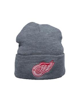 Mitchell & Ness Detoit Red Wings Team Logo Cuff Knit Winter Hat