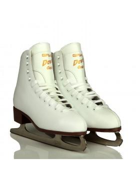 GRAF Davos Gold Girls Figure Skates