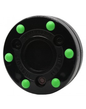 GREEN BISCUIT Roller Hockey Off Ice Training Hockey Puck