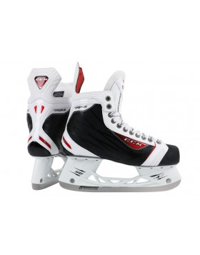 CCM RBZ 75 White LE Junior Ice Hockey Skates