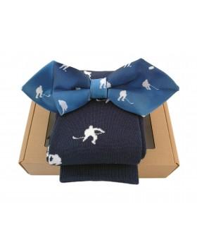 HOKEJAM.LV Gift Bow Tie And Socks