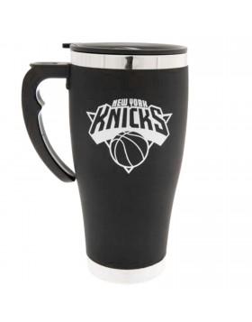 New York Knicks Foil Print Travel Mug