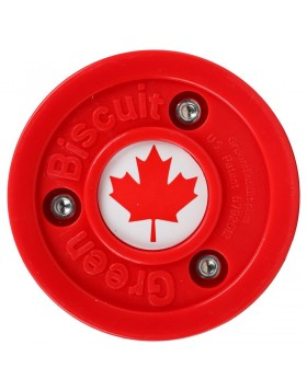 Green Biscuit Canada Off Ice Training Hockey Puck