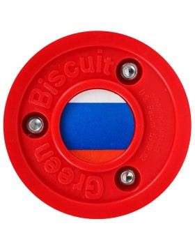 Green Biscuit Russia Off Ice Training Hockey Puck