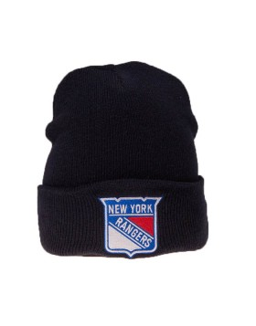 MITCHELL & NESS New York Rangers Cuff Knit Winter Hat EU785
