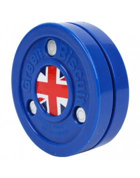 Green Biscuit United Kingdom Off Ice Training Hockey Puck
