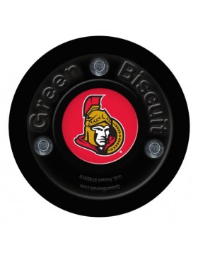 Green Biscuit Ottawa Senators Off Ice Training Hockey Puck