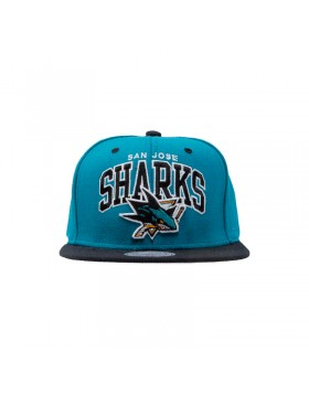 MITCHELL & NESS San Jose Sharks Snapback Cap / ND12Z