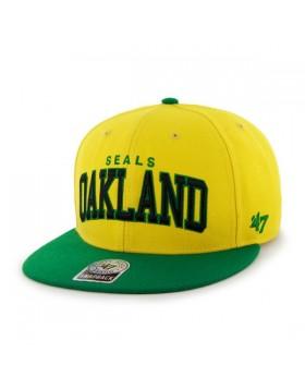 BRAND 47 Oakland Seals Blockshed Snapback Cap