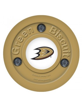 Green Biscuit Anaheim Ducks Off Ice Training Hockey Puck