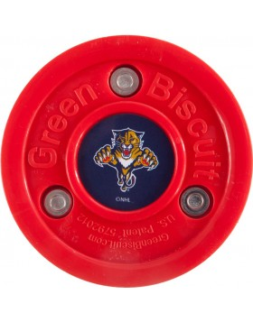 Green Biscuit Florida Panthers Off Ice Training Hockey Puck