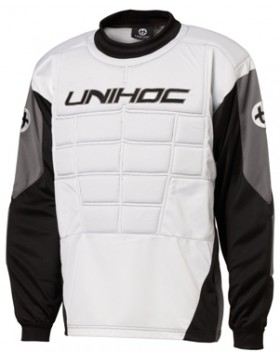 UNIHOC Sweater Blocker Junior Goalie Floorball Padded Shirt