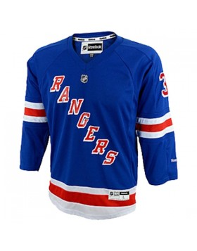 Reebok Premier New York Rangers Youth Jersey - Lundqvist-SMALL-MEDIUM-NAVY