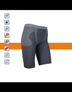 SIM LOC Orange Line Adult Thermo Shorts