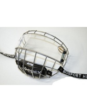 BOSPORT Uniplexi Flat Junior Cage with Visor